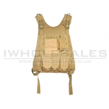 Big Foot - Light Weight MOLLE - Plate Carrier - Vest (Tan)