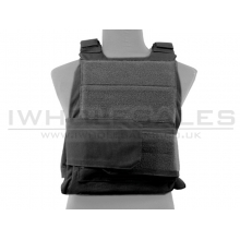 Big Foot Quick Strap Plate Carrier Vest (Black)
