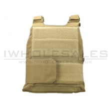 Big Foot Denier 600 Body Armor Shell Vest (Tan)