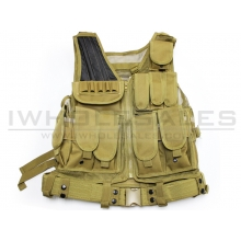 Big Foot Mesh Vest 600D (Tan)