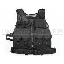 Big Foot Mesh Vest 600D (Black)