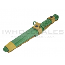 CCCP M10 Rubber Bayonet Knife for M4/M16 (Green)