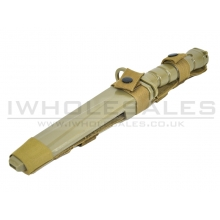 CCCP M10 Rubber Bayonet Knife for M4/M16 (Tan)