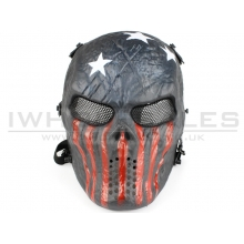 Big Foot Tactical Skull Mash with Mesh Eyes (Captian)
