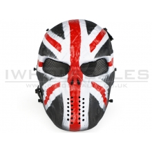 Big Foot Tactical Skull Mask with Mesh Eyes (British Knight)