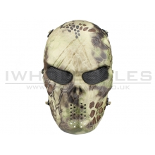 Big Foot Tactical Skull Mash with Mesh Eyes (Highlander)