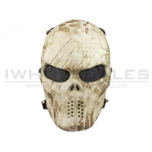 Big Foot Tactical Skull Mash with Mesh Eyes (Nomad)