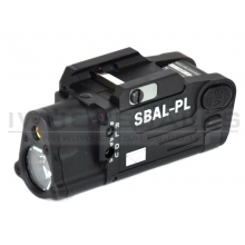 CCCP SBAL-PL Pistol Laser and Torch (Black)