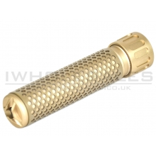 CCCP QD Silencer Full Metal with Flash Hider (Long - Tan)