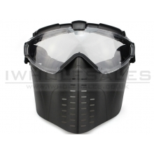 Big Foot Face Mask (Fan - Black)