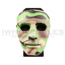 Big Foot Full Face Woodland Mask