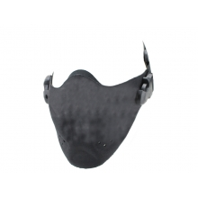Big Foot High Speed Lightweight Half Face Mask (Nylon - Black)