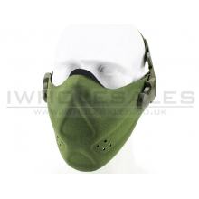 Big Foot High Speed Lightweight Half Face Mask (Nylon - OD)