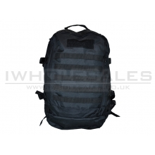 CCCP Day Sak Back Pack with Padding (Black)