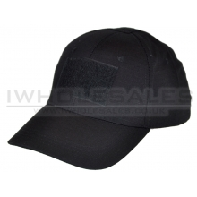 Big Foot Baseball Cap with Velcro (Black)