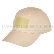 Big Foot Baseball Cap with Velcro (Tan)