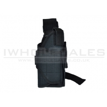 CCCP Universal Pistol Holster with Pouch (Black)
