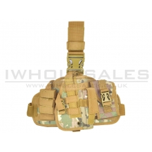 CCCP Universal Pistol Holster with Pouch (BIG - Camo)