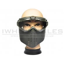 Battleaxe Full Face Goggle with Fan (B28 - OD)