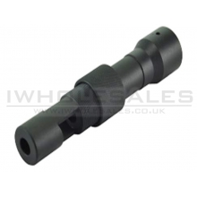 Battleaxe AK74S Flash Hider (Full Steel - BW0080)