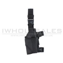 Big Foot Universal Tactical Pistol Holster (Left - Black)