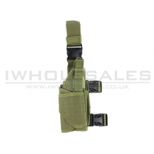 Big Foot Universal Tactical Pistol Holster (Left - OD)