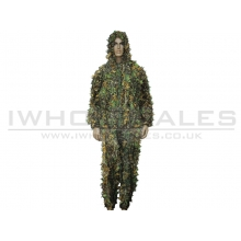 Big Foot Ghillie Suit Maple Leaf Camouflage
