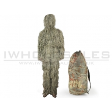 Big Foot Ghillie Suit Burrs Camouflage Desert