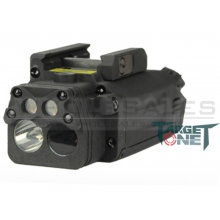 FMA DBAL-PL with LED (White Light) and Laser (IR Function) (Plastic version) (AT-1002)