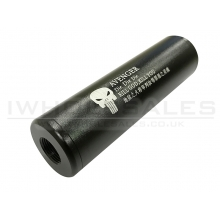 CCCP Avenger Silencer (Full Metal - 110mm in Length - Plain - Black)