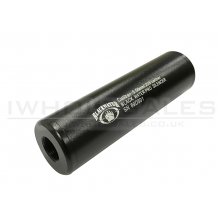 CCCP BW Silencer (Full Metal - 110mm in Length - Plain - Black)