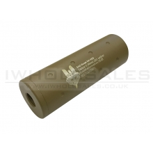 CCCP SAS Silencer (Full Metal - 110mm in Length - Dot - Tan)