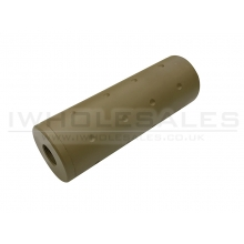 CCCP Avenger Silencer (Full Metal - 110mm in Length - Dot - Tan)