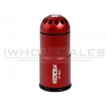 Zoxna 40mm Gas Grenade (120 Round - Full Metal) RED