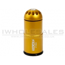Zoxna - 40mm Gas Grenade (120 Round - Full Metal) GOLD