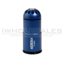 Zoxna - 40mm Gas Grenade (120 Round - Full Metal) BLUE