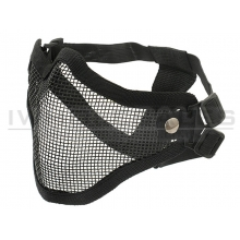 CCCP V1 Strike Steel Half Face Mask (Two Belt Version - Black)
