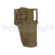 Black M92/M9 Belt Holster (Hard - Right Hand - Tan)