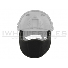 Emersongear Face Protection for Fast Helemts (Black)