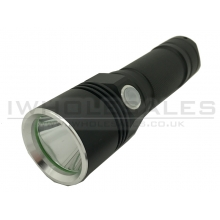 CCCP Rechargeable USB Flashlight (Black)