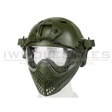 Big Foot WST Piloteer Helmet System II (High Version - PJ Type - Round Hole - S Size - OD)
