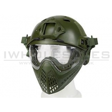 Big Foot WST Piloteer Helmet System II (High Version - PJ Type - Round Hole - L Size - OD)