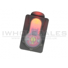 FMA S-Lite Card Button (Strobe Red Light - FG - TB982)