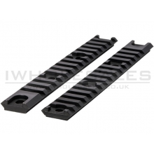 Airtech Studios AAR Accessory Rail (x2 - AM-013/014 - Black - 20mm)