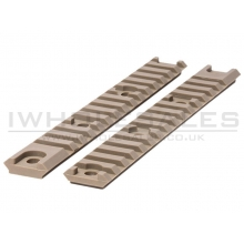 Airtech Studios AAR Accessory Rail (x2 - AM-013/014 - Tan - 20mm)