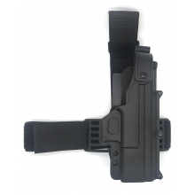 CCCP 17 Series Leg Holster (Hard - Right Hand - Black)