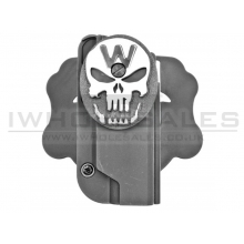 WE 1911 Holster (W-Skull - Black)