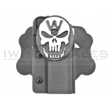 WE Hi-Capa Holster (W-Skull - Black)