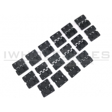 Cyma XTM-2 Rail Cover Set (Black - 32pcs - HY-206)