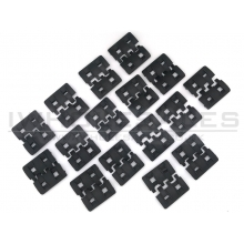 Cyma XTM-1 Rail Cover Set (Black - 32pcs - HY-205)